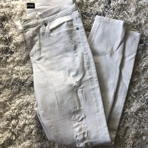 Express white jeans size 8